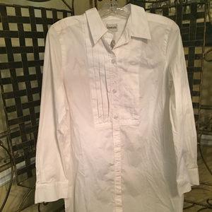 CHICO'S WOMEN'S WHITE DRESS SHIRT